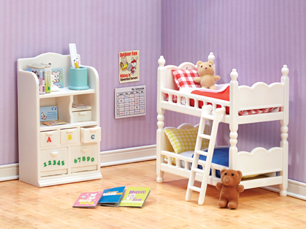 Calico Critters Children\'s Bedroom Set - Be Beep Toys